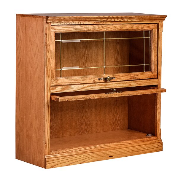 Mobley Traditional Legal Barrister Bookcase by Loo