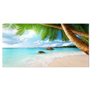 'Praslin Island Seychelles Beach' Photographic Print on Wrapped Canvas by Design Art