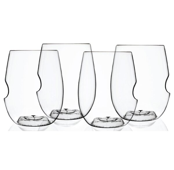 12 oz Wine and Cocktail Glass (Set of 4) by GoVino