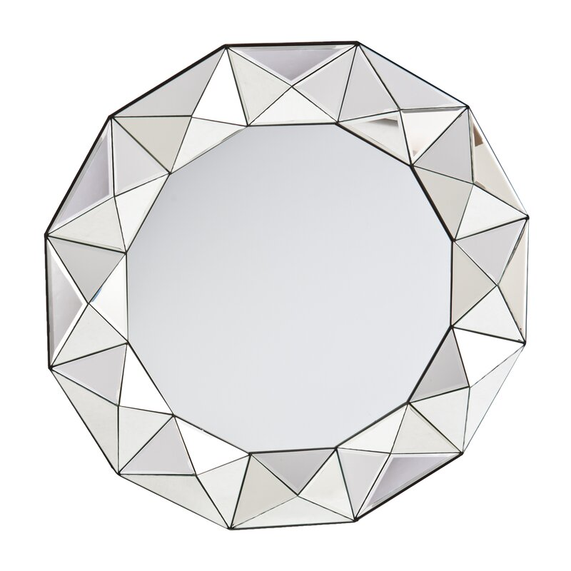 Traditional Round Decorative Wall Mirror & Reviews | AllModern