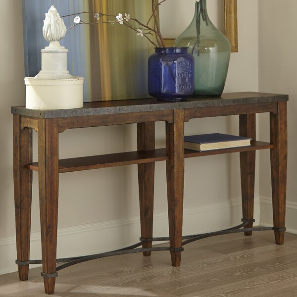 Trisha Yearwood Home Collection Brown Console Tables
