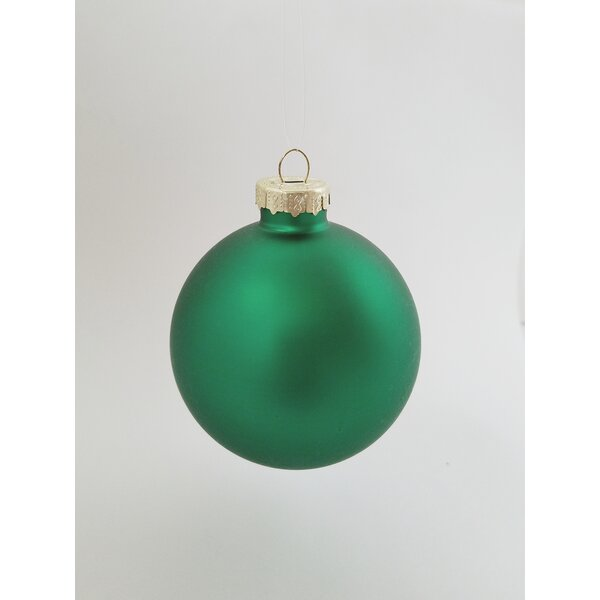 2.75 Christmas Ball Ornament (Set of 12) by The Holiday Aisle