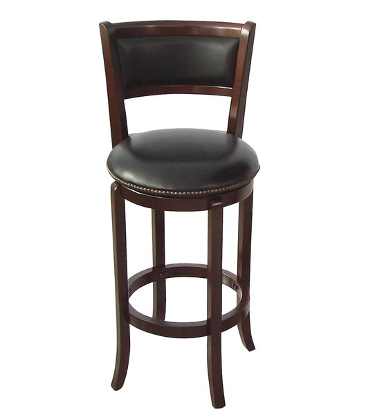Vinyl 30 Swivel Bar Stool by Wildon Home ®