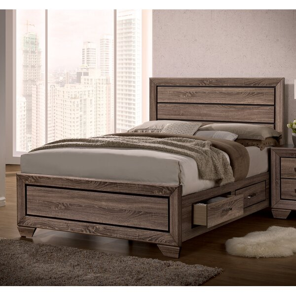 Kraker Storage Platform Bed by Ophelia & Co. Ophelia & Co.
