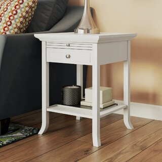 American Heritage Logan End Table by Andover Mills SKU:AE642465 Check Price