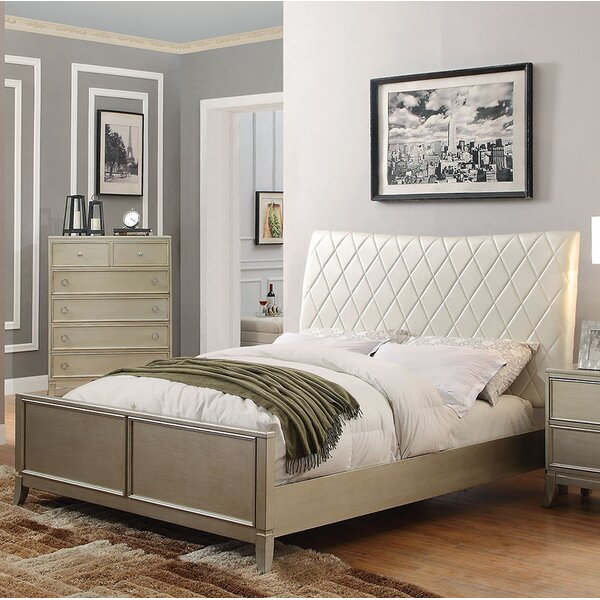 Noannet Upholstered Standard Bed by A&J Homes Studio