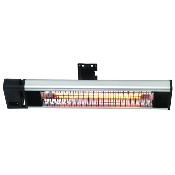 Wall/Ceiling Mounted 1500 Watt Electric Mounted Patio Heater by Hetr