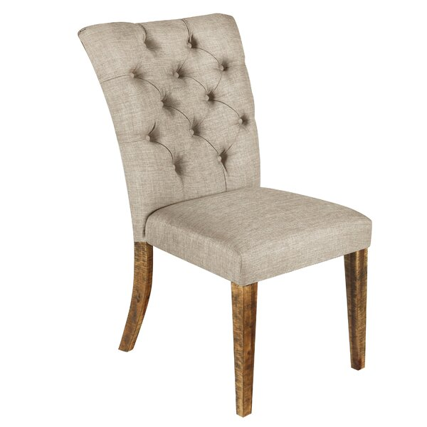 Jaelynn Tufted Upholstered Parsons Chair In Vintage (Set Of 2) By Alcott Hill