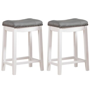 Check Prices Cambridge 24 Bar Stool (Set of 2) by Angel Line