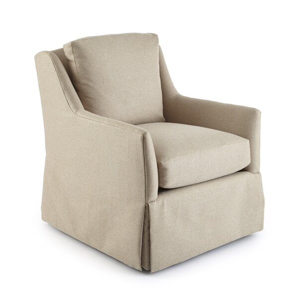 Howard Swivel Armchair by Square Feathers