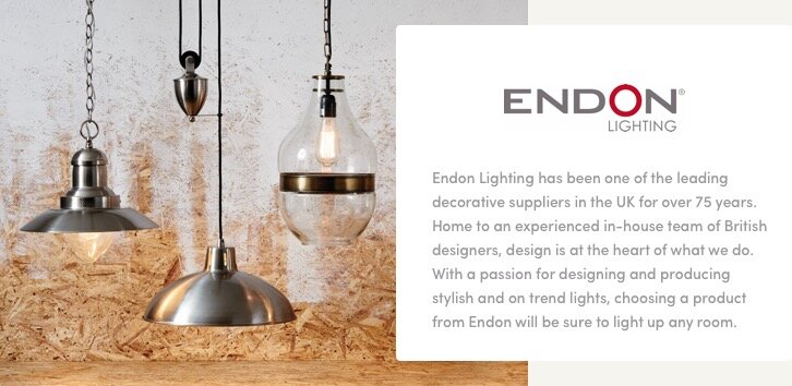Endon lighting featured categories table lampspendantswall