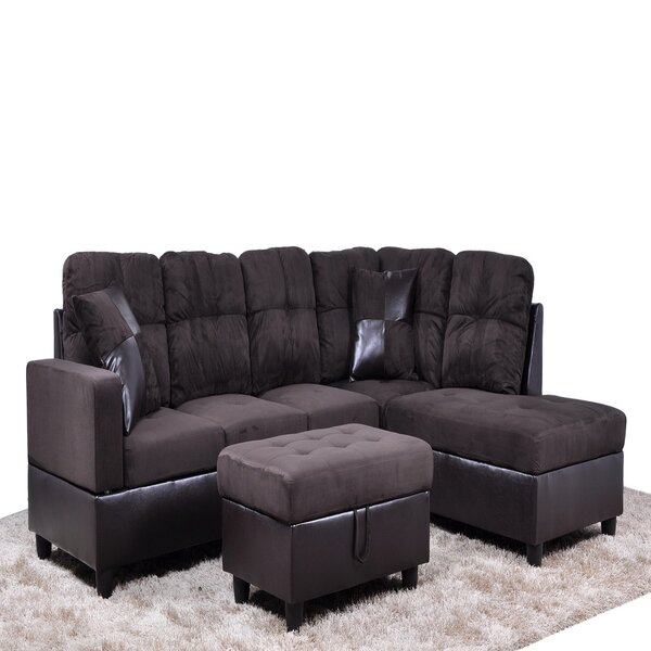 Fenix Olivier 32'' Right Hand Facing Sectional With Ottoman By Red Barrel Studio