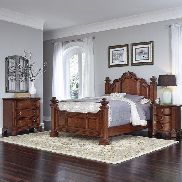 Santiago Platform 3 Piece Bedroom Set by Home Styles
