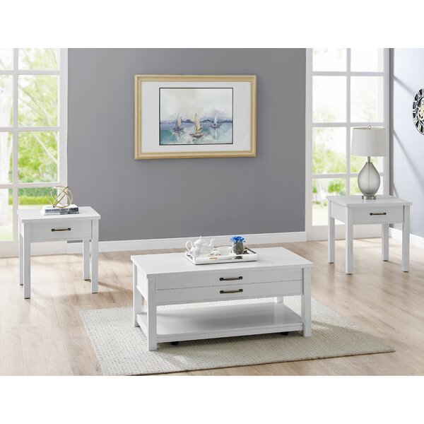 Frisco 3 Piece Coffee Table Set by Latitude Run Latitude Run