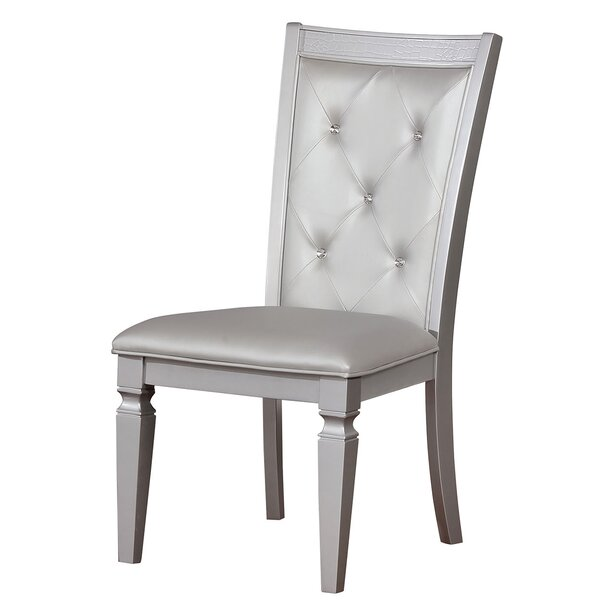 Woking Upholstered Dining Chair (Set of 2) by Everly Quinn