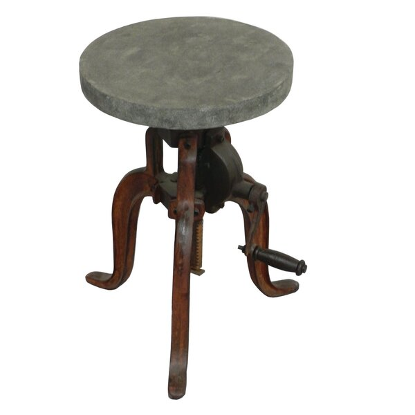 Adjustable Height Bar Stool by Yosemite Home Decor