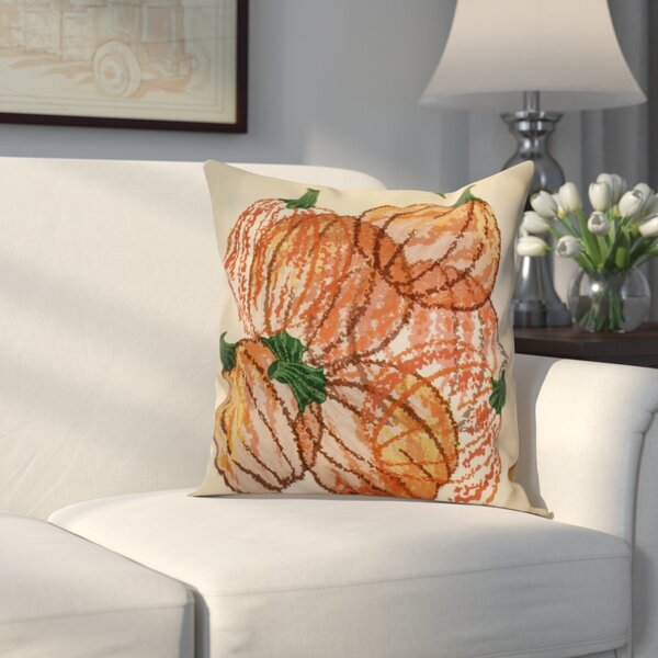 Miller Pumpkin Pie Throw Pillow by Alcott Hill