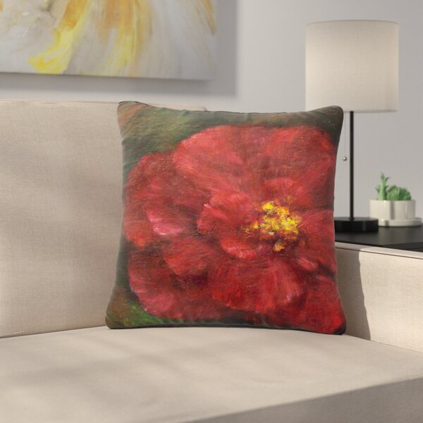 Cyndi Steen My Beauty Outdoor Throw Pillow by East Urban Home