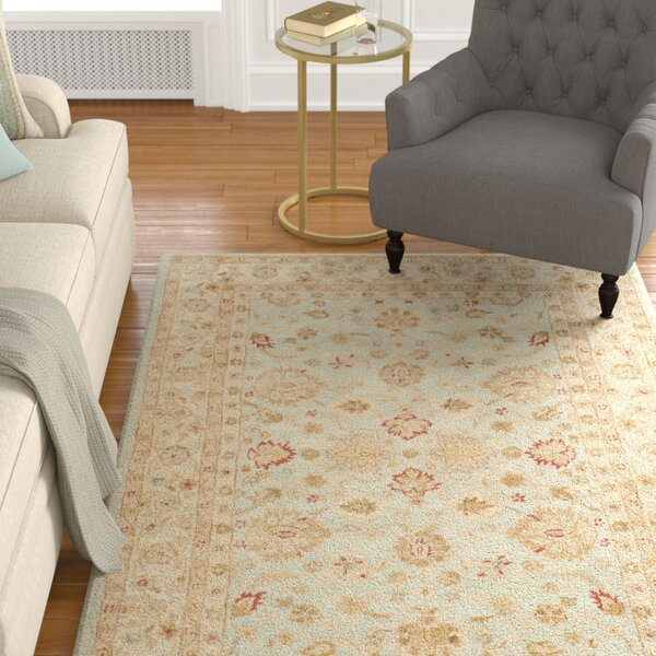 Otwell Gray/Blue/Beige Area Rug by Charlton Home