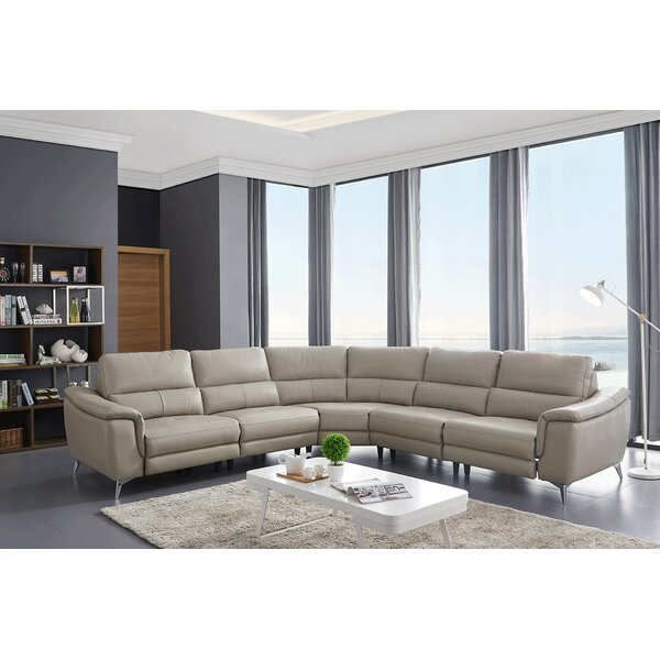 Review Nicolas Symmetrical Reclining Sectional