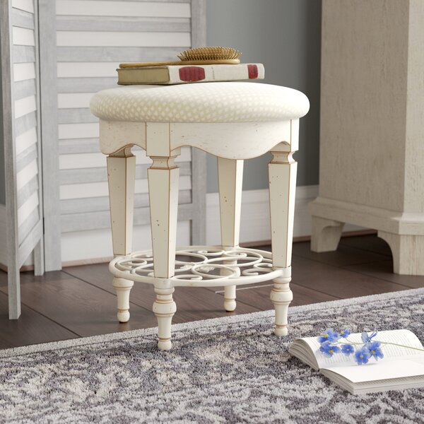 Solley Vanity Stool by Lark Manor