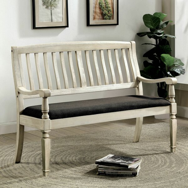 Ilkley Love Seat Bench By Ophelia & Co.
