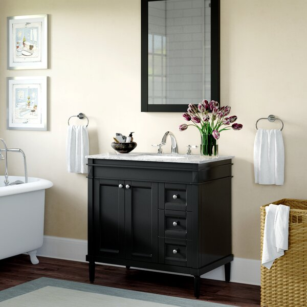Millfield 37 Single Bathroom Vanity Set with Mirror by Andover Mills
