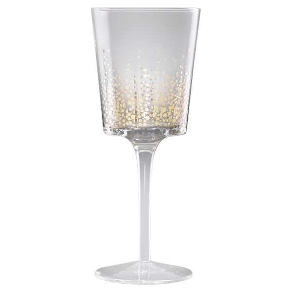 Gold Luster Red Wine Goblet (Set of 4) by Fitz and Floyd