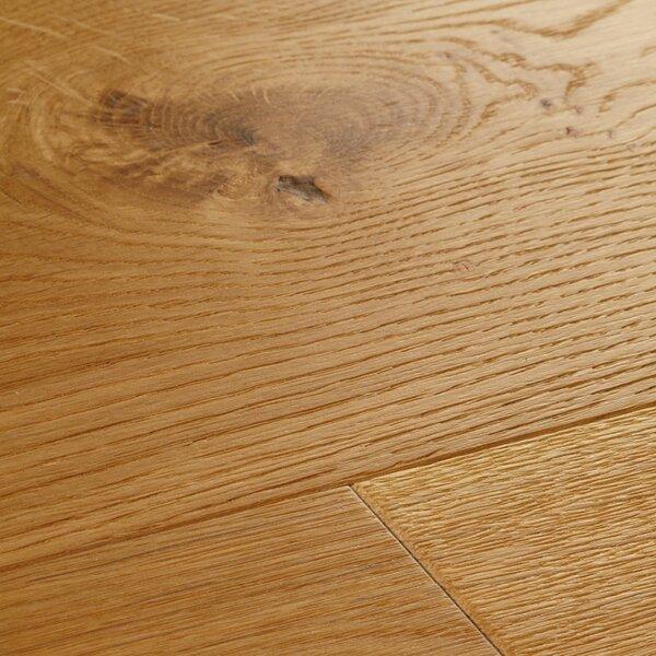 Chepstow 7-1/2 Engineered Oak Hardwood Flooring in Natural by Woodpecker