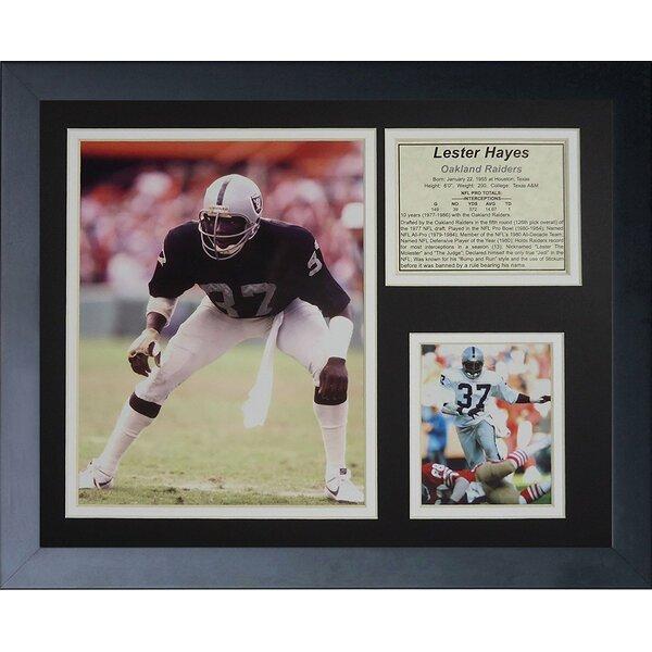 Lester Hayes Framed Memorabilia by Legends Never Die