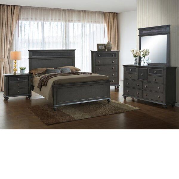Friesen Queen Panel 5 Piece Bedroom Set by Charlton Home