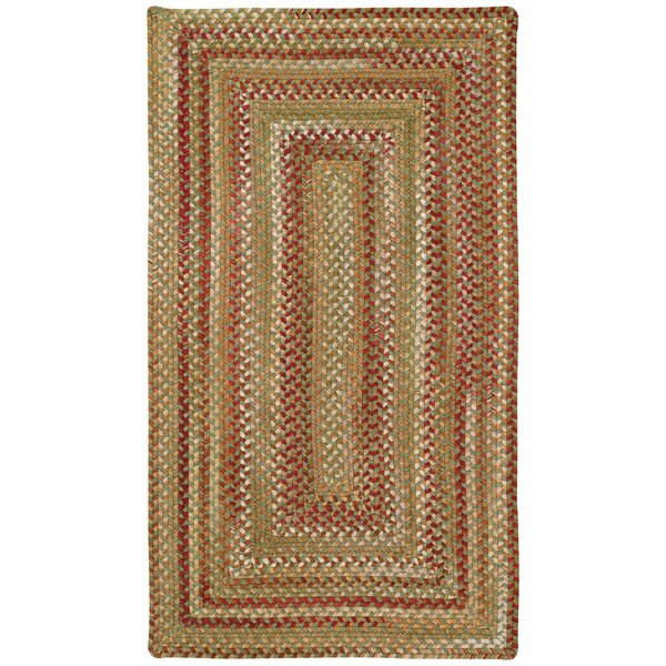 Holcombe Sage Red Hues Area Rug by August Grove