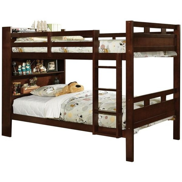 Josephson Twin Bunk Bed by Harriet Bee