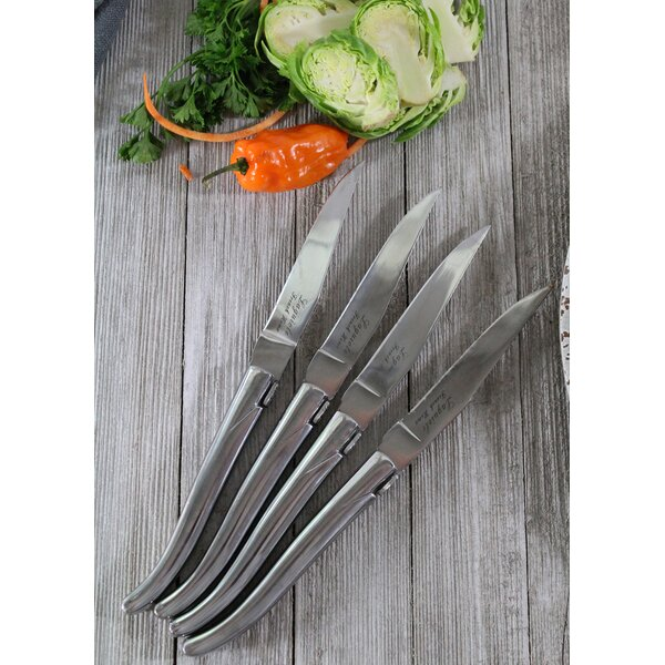 Linch 4.5 Steak Knife (Set of 4) by Latitude Run