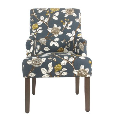 Arrowwood Cotton Upholstered Dining Chair by Alcott Hill