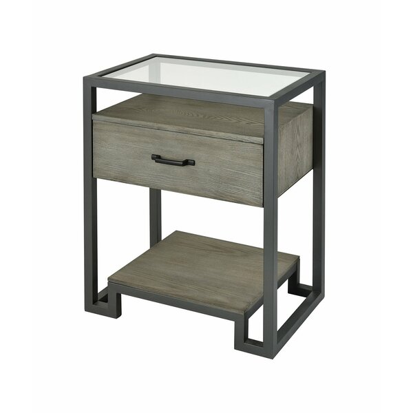Kaira End Table with Storage by Foundry Select Foundry Select