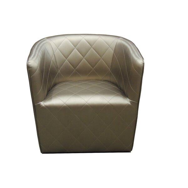 Grantville Barrel Chair by Everly Quinn
