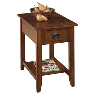 Hadley End Table With Storage Three Posts