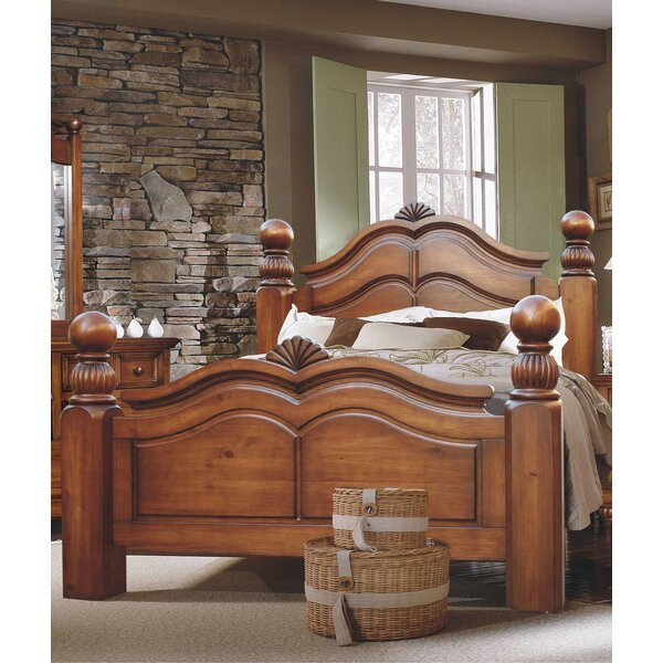 Queen Four Poster Bed by Minick Wood Products