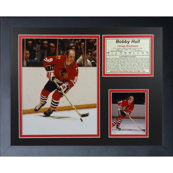 Bobby Hull Framed Memorabilia by Legends Never Die