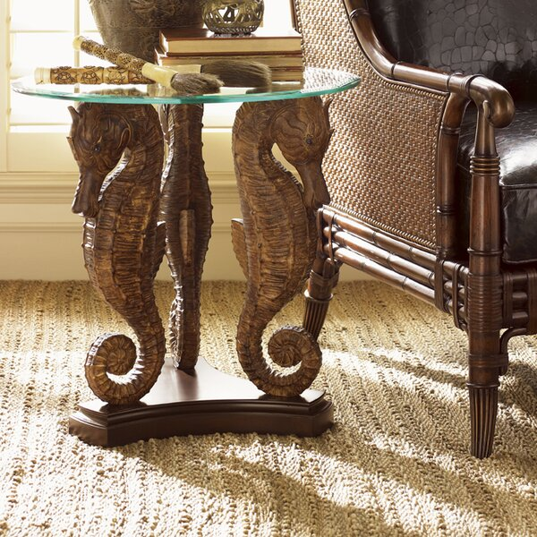 Landara Sea Horse End Table by Tommy Bahama Home