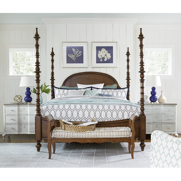 Dogwood Four Poster Configurable Bedroom Set by Paula Deen Home