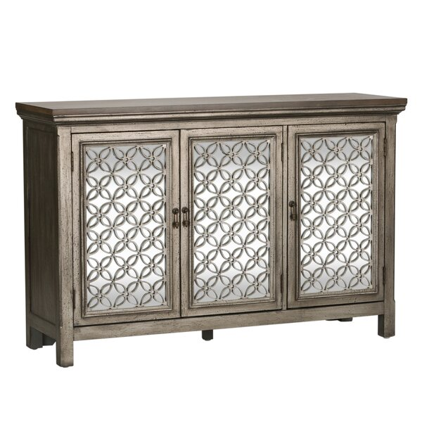 Continuum 3 Door Accent Cabinet by Ophelia & Co.