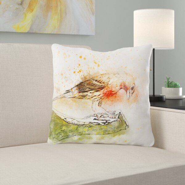 Wasserman Bird Throw Pillow