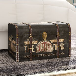 Exceptionnel Helina Large Vintage Decorative Home Storage Trunk