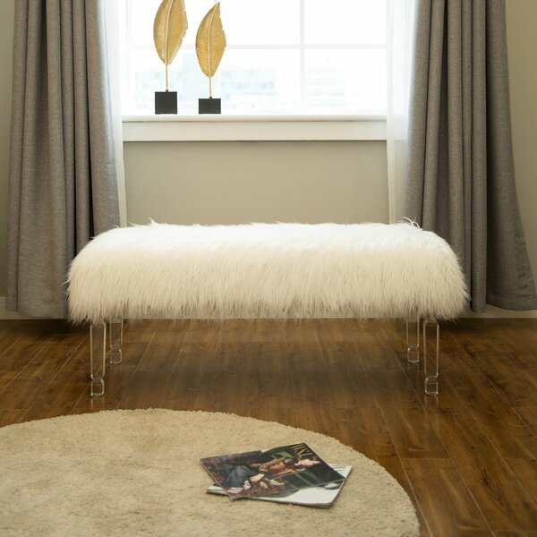 Catrina Upholstered Bench by House of Hampton