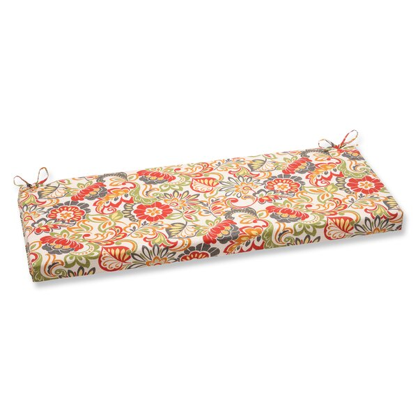 Zoe Indoor/Outdoor Bench Cushion by Pillow Perfect