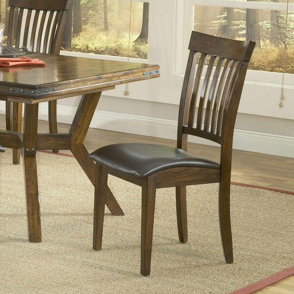 Harkness Upholstered Dining Chair (Set of 2) by Loon Peak