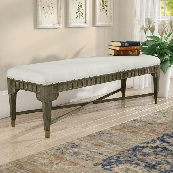 Massimo Upholstered Bench by Mistana