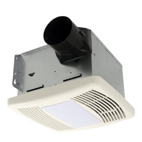 HushTone 150 CFM Energy Star Bathroom Fan With Motion Sensor Combo by Cyclone